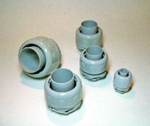 Flexible, Nonmetallic, Electrical Tubing Connectors