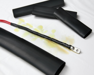 Flexible, abrasion resistant covering for wires.